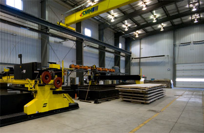 plasma cutting facility capacity
