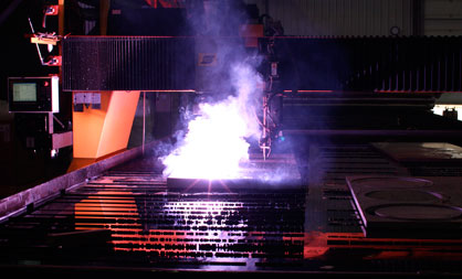 Industrial scale plasma cutters