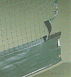 Tennis Divider Net With Attachment