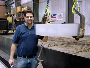 CNC Plasma Cutters and CNC Waterjet Cutters