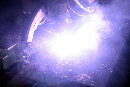 Precise Plasma Cutting Process
